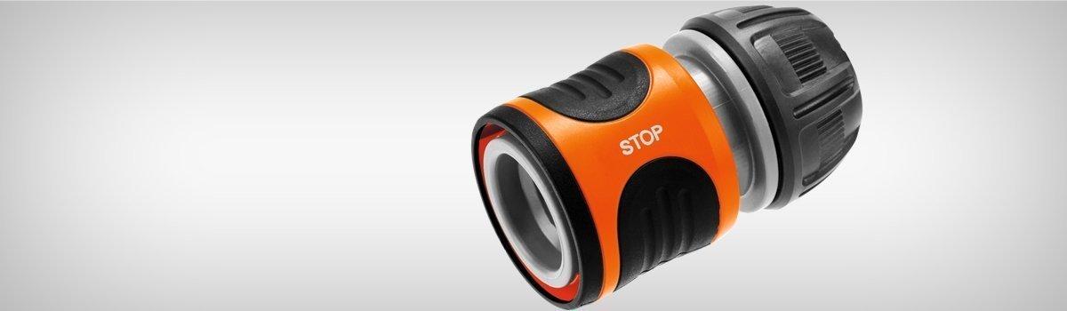 """Conector cu STOP 12,5mm (1/2"""") - 15mm (5/8"""")"""