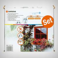 Set automat micro-irigare pentru jardiniere