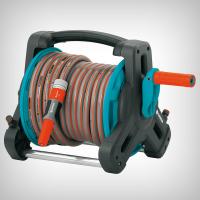 Set derulator pentru furtun CLASIC echipat cu 10 m furtun si conectori