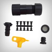 Kit robinet sistem irigatie D16mm cu filtru reducator de presiune 1,5 bar