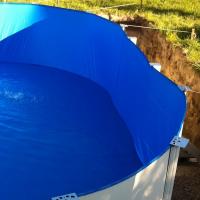 Liner pentru piscina cu dimensiunile 4,5m x 0,9m