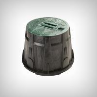 Cutie rotunda pentru electrovane HDPE, diametru 35cm, inaltime 25cm
