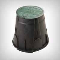 Cutie mini pentru electrovane, HDPE, diametru 25 cm, inaltime 23 cm