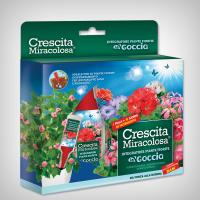 Fertilizant Crescita Miracolosa GOCCE pentru plante cu flori
