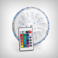 Proiector magnetic cu LED RGB cu telecomanda