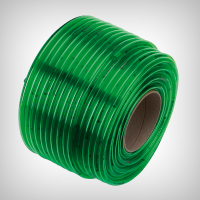 Furtun transparent verde