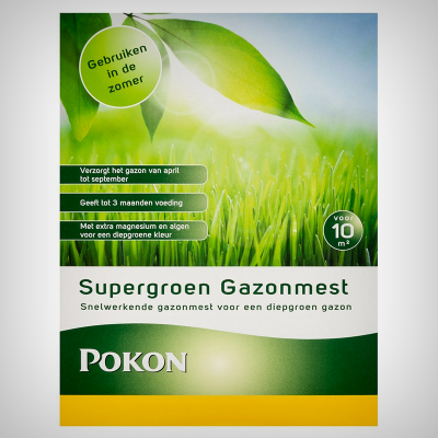 Fertilizator gazon vara Supergreen