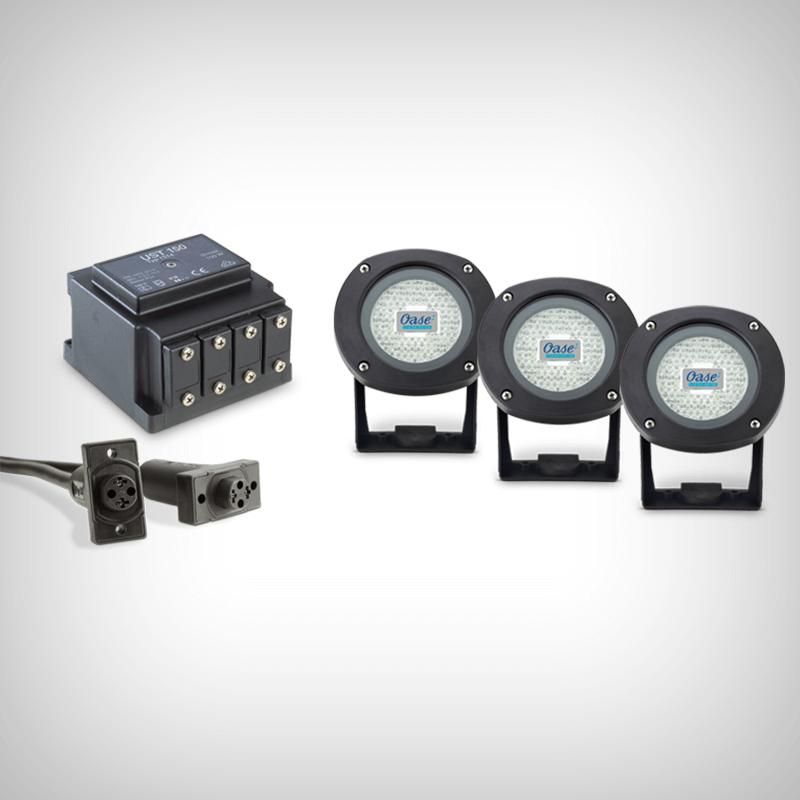 Set Iluminare Iaz Midi Maxi Airflo Led 01